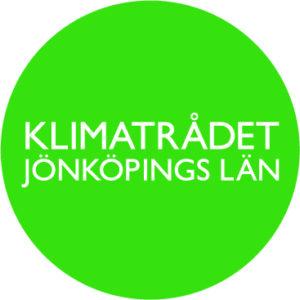 Logotype för Klimatrådet - grön